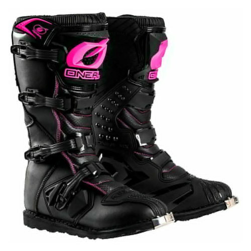 ONEAL Rider Boots Black/Pink Youth 02