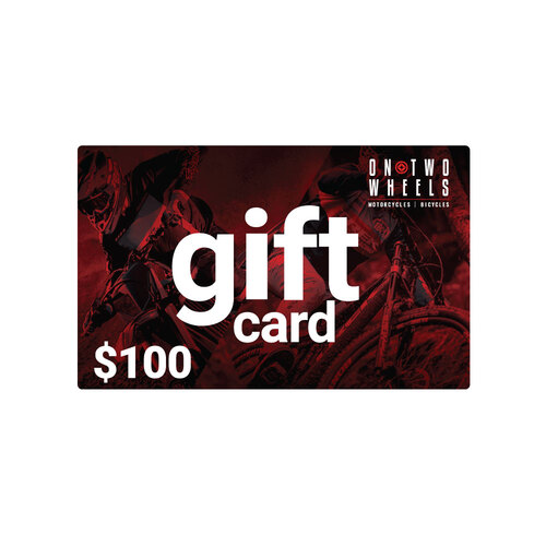 On Two Wheels Gift Card - $100