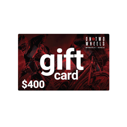 On Two Wheels Gift Card - $400